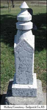 GOLDEN, WILLIAM A - Sedgwick County, Kansas | WILLIAM A GOLDEN - Kansas Gravestone Photos