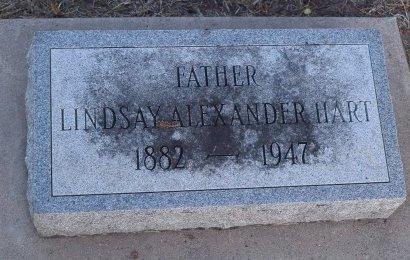 HART, LINDSAY ALEXANDER - Sedgwick County, Kansas | LINDSAY ALEXANDER HART - Kansas Gravestone Photos
