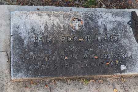 HART, PAUL EDGAR (VETERAN WWII) - Sedgwick County, Kansas   PAUL EDGAR (VETERAN WWII) HART - Kansas Gravestone Photos
