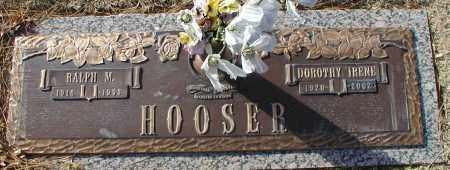 HOOSER, RALPH MOGAL - Sedgwick County, Kansas | RALPH MOGAL HOOSER - Kansas Gravestone Photos