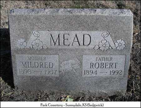 MEAD, MILDRED - Sedgwick County, Kansas | MILDRED MEAD - Kansas Gravestone Photos