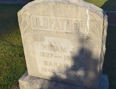 OLDFATHER, SARAH E - Sedgwick County, Kansas | SARAH E OLDFATHER - Kansas Gravestone Photos