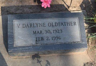 OLDFATHER, V DARLYNE - Sedgwick County, Kansas | V DARLYNE OLDFATHER - Kansas Gravestone Photos
