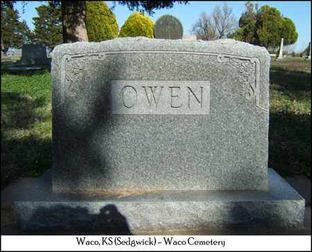 OWEN, FAMILY STONE - Sedgwick County, Kansas | FAMILY STONE OWEN - Kansas Gravestone Photos