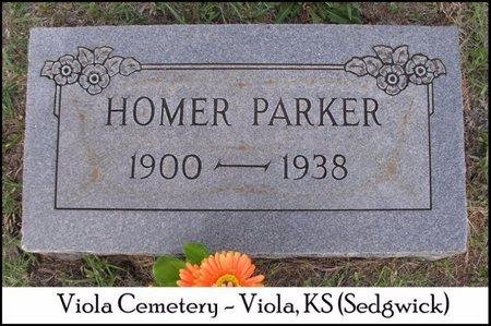 PARKER, HOMER - Sedgwick County, Kansas | HOMER PARKER - Kansas Gravestone Photos