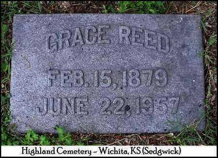 REED, GRACE - Sedgwick County, Kansas | GRACE REED - Kansas Gravestone Photos