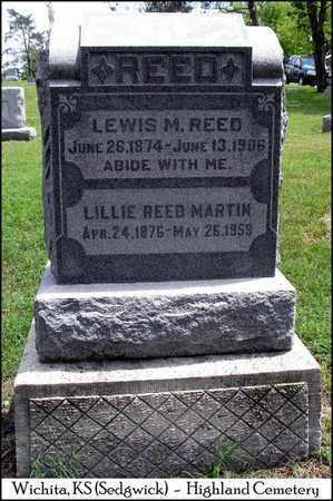 REED, LILLIE - Sedgwick County, Kansas | LILLIE REED - Kansas Gravestone Photos