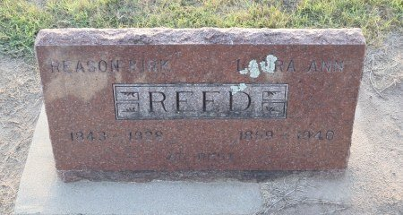 REED, LAURA ANN - Sedgwick County, Kansas | LAURA ANN REED - Kansas Gravestone Photos