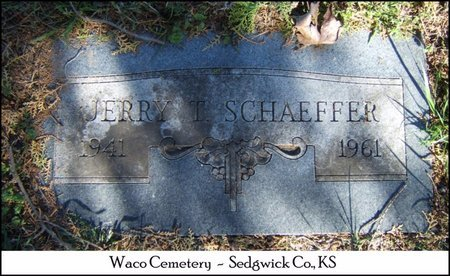 SCHAEFFER, JERRY TREDICK - Sedgwick County, Kansas   JERRY TREDICK SCHAEFFER - Kansas Gravestone Photos