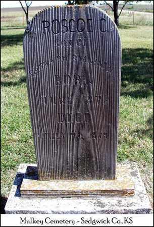 SHANNON, ROSCOE C - Sedgwick County, Kansas | ROSCOE C SHANNON - Kansas Gravestone Photos