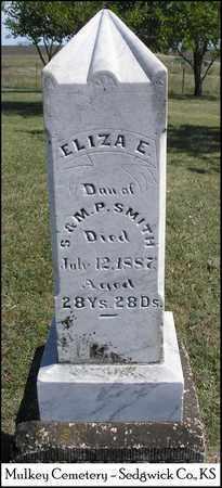 SMITH, ELIZA E - Sedgwick County, Kansas | ELIZA E SMITH - Kansas Gravestone Photos