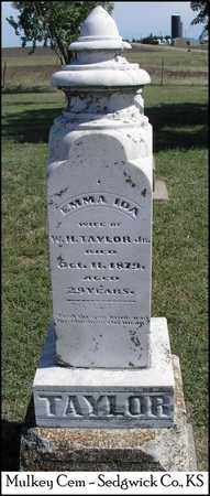 TAYLOR, EMMA IDA - Sedgwick County, Kansas   EMMA IDA TAYLOR - Kansas Gravestone Photos