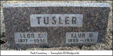 TUSLER, LEON C - Sedgwick County, Kansas | LEON C TUSLER - Kansas Gravestone Photos