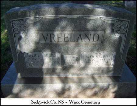 "VREELAND, FRED MERRILL ""DOC"" - Sedgwick County, Kansas | FRED MERRILL ""DOC"" VREELAND - Kansas Gravestone Photos"