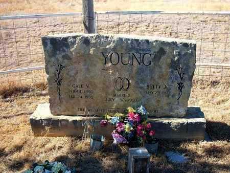 YOUNG, GALE V - Seward County, Kansas | GALE V YOUNG - Kansas Gravestone Photos