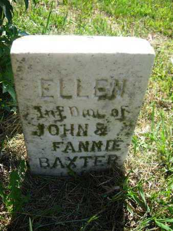 BAXTER, ELLEN - Shawnee County, Kansas   ELLEN BAXTER - Kansas Gravestone Photos