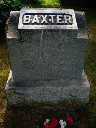 BAXTER, ISAAC - Shawnee County, Kansas | ISAAC BAXTER - Kansas Gravestone Photos