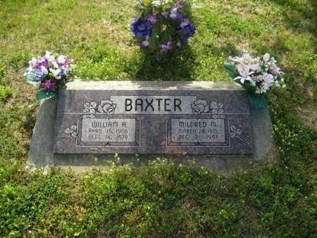 BAXTER, MILDRED M - Shawnee County, Kansas | MILDRED M BAXTER - Kansas Gravestone Photos