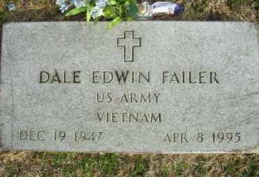 FAILER, DALE EDWIN   (VETERAN VIET) - Shawnee County, Kansas | DALE EDWIN   (VETERAN VIET) FAILER - Kansas Gravestone Photos