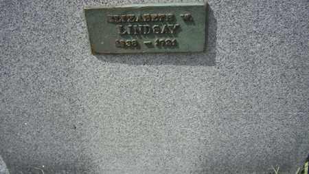 LINDSAY, ELIZABETH W - Shawnee County, Kansas | ELIZABETH W LINDSAY - Kansas Gravestone Photos