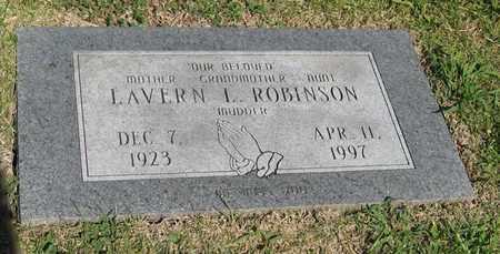 ROBINSON, LAVERN I - Shawnee County, Kansas | LAVERN I ROBINSON - Kansas Gravestone Photos