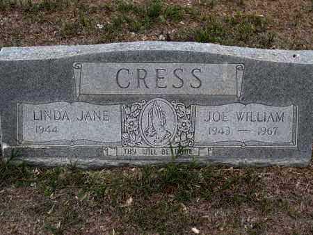 CRESS, JOE WILLIAM - Sherman County, Kansas   JOE WILLIAM CRESS - Kansas Gravestone Photos