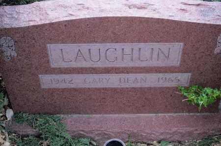 LAUGHLIN, GARY DEAN - Sherman County, Kansas | GARY DEAN LAUGHLIN - Kansas Gravestone Photos