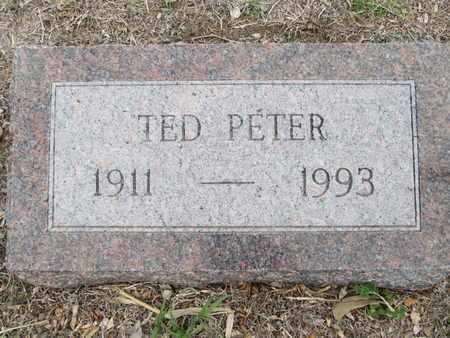 PETER, TED - Sherman County, Kansas   TED PETER - Kansas Gravestone Photos