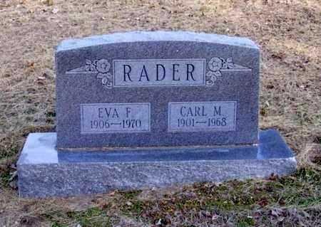 LEATHERMAN RADER, EVA FRANCES - Stafford County, Kansas | EVA FRANCES LEATHERMAN RADER - Kansas Gravestone Photos