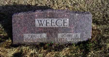 KIRK WEECE, EVA ESTELLA - Stafford County, Kansas | EVA ESTELLA KIRK WEECE - Kansas Gravestone Photos