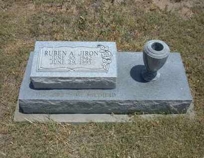 JIRON, RUBEN A - Stanton County, Kansas | RUBEN A JIRON - Kansas Gravestone Photos