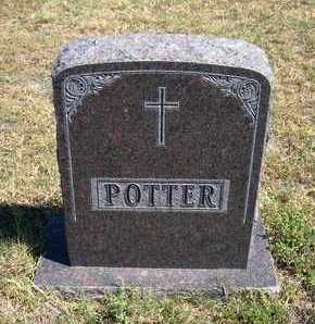 POTTER FAMILY GRAVESTONE,  - Stanton County, Kansas |  POTTER FAMILY GRAVESTONE - Kansas Gravestone Photos