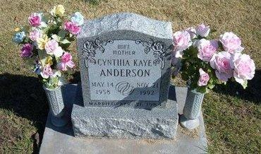 TOWNSEND ANDERSON, CYNTHIA KAYE - Stevens County, Kansas | CYNTHIA KAYE TOWNSEND ANDERSON - Kansas Gravestone Photos