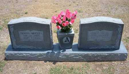 MCCUE ANDERSON, DONNA FAYE - Stevens County, Kansas | DONNA FAYE MCCUE ANDERSON - Kansas Gravestone Photos