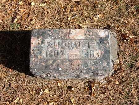 AUDRUFF, LAHEY - Stevens County, Kansas   LAHEY AUDRUFF - Kansas Gravestone Photos