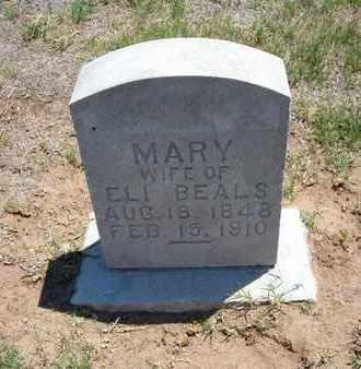 BEALS, MARY - Stevens County, Kansas | MARY BEALS - Kansas Gravestone Photos