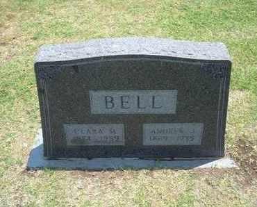 BELL, ANDREW J - Stevens County, Kansas | ANDREW J BELL - Kansas Gravestone Photos