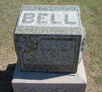 BELL, AMANDA C - Stevens County, Kansas | AMANDA C BELL - Kansas Gravestone Photos