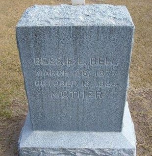 BELL, BESSIE L - Stevens County, Kansas   BESSIE L BELL - Kansas Gravestone Photos
