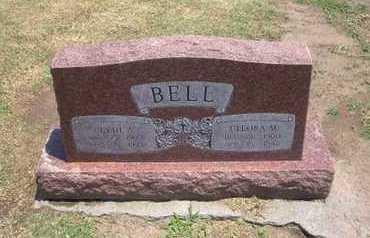 BELL, CLEORA MAY - Stevens County, Kansas | CLEORA MAY BELL - Kansas Gravestone Photos
