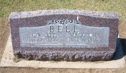 BELL, MAGGIE B - Stevens County, Kansas   MAGGIE B BELL - Kansas Gravestone Photos