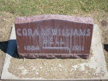 BELL, CORA - Stevens County, Kansas   CORA BELL - Kansas Gravestone Photos