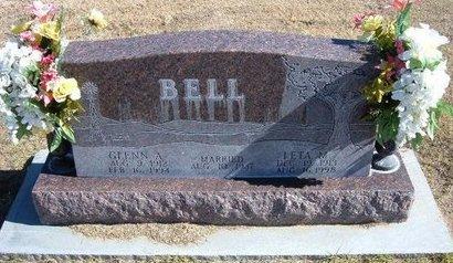 BELL, GLENN A - Stevens County, Kansas   GLENN A BELL - Kansas Gravestone Photos