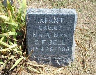 BELL, INFANT DAUGHTER - Stevens County, Kansas | INFANT DAUGHTER BELL - Kansas Gravestone Photos