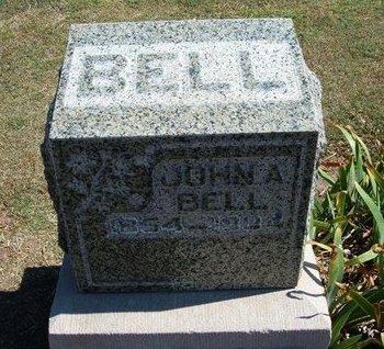 BELL, JOHN A - Stevens County, Kansas | JOHN A BELL - Kansas Gravestone Photos
