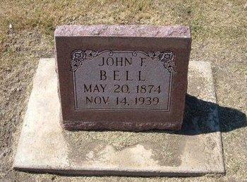 BELL, JOHN F - Stevens County, Kansas   JOHN F BELL - Kansas Gravestone Photos