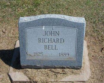 BELL, JOHN RICHARD - Stevens County, Kansas   JOHN RICHARD BELL - Kansas Gravestone Photos