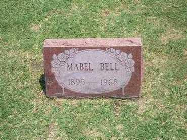 BELL, MABEL - Stevens County, Kansas   MABEL BELL - Kansas Gravestone Photos