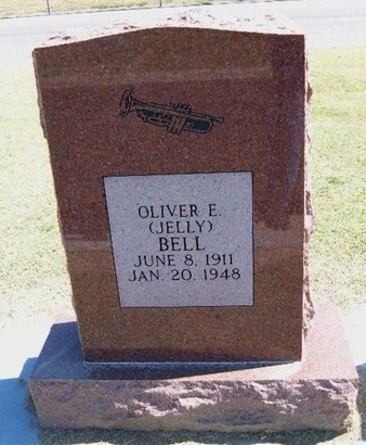 """BELL, OLIVER E """"JELLY"""" - Stevens County, Kansas   OLIVER E """"JELLY"""" BELL - Kansas Gravestone Photos"""