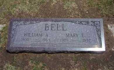 BELL, WILLIAM A - Stevens County, Kansas | WILLIAM A BELL - Kansas Gravestone Photos